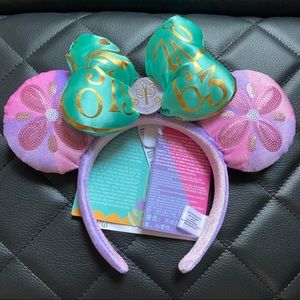 🆕 Disney Minnie Mouse Main Attraction Ears